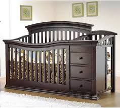 furniture cherry wood crib with changing table crib furniture
