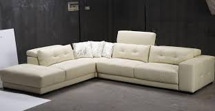 Grey Leather Sectional Living Room Ideas by Best Modern 3 Piece White Leather Sectional Sleeper Sofa With