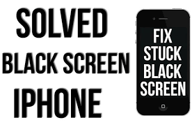 How To Fix iPhone Black Screen Death