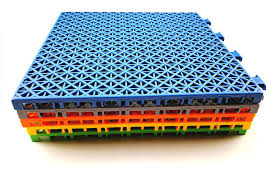 Removable Temporary Outdoor Flooring Versatile Sports Customized Color