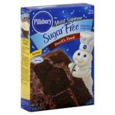 Pillsbury Moist Supreme Sugar Free Devils Food Cake Mix 16 oz