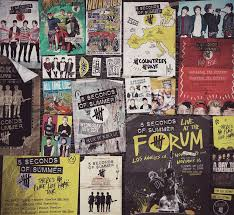 5 Seconds Of Summer On Wall DecorBedroom