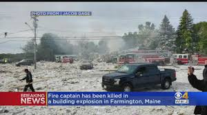 100 Propane Truck Explosion Levels Building Kills Maine Firefighter