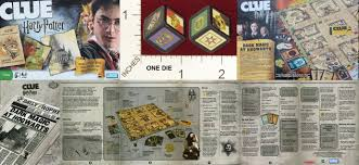 Dice MINT20 PARKER BROTHERS CLUE HARRY POTTER EDITION 01