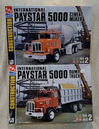 AMT International Paystar 5000 Dump Truck And Cement Mixer New ...