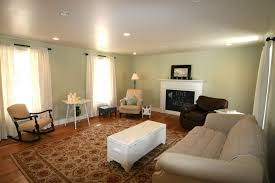 living room light grey paint living room with floral carpet