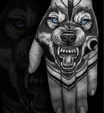 Lovely Lone Wolf Tattoos In Different Styles