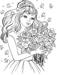The Most Beautiful Bride Coloring Pages 3 Kids Printables