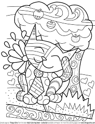 Cat Coloring Book Archives