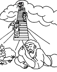 Ladder Coloring Page Image Clipart