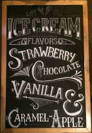 Optimistically Green » Chalk Art Chalkboard | Chalk-Menu | Chalk ...