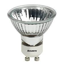 bulbrite fmw gu10 35 watt halogen mr16 120v gu10 twist and lock