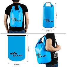 Amazon 20L Waterproof Dry Bag OXA Roll Top Closure Dry Sack