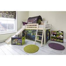 tmnt cabin bed with slide tent noa nani