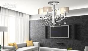 fashion simple fresh ceiling ls 5lights chrome bedroom