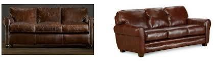 Restoration Hardware Lancaster Sofa Leather by Knockout Knockoffs Restoration Hardware Lancaster Leather Den