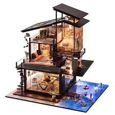 Lola Mansion Dollhouse With EZ Kraft Assembly