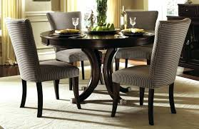 Solid Wood Dining Table Set Round Captivating Room