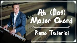 100 Ab Flat Major Chord How To Play A Major Chord On Piano Plus