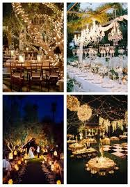 38 Outdoor Wedding Lights Ideas Youll Love