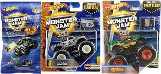 100 Monster Trucks Michigan Amazoncom Dragon Hot Wheels Jam With Team Flag Creatures