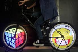 Bicycle Light 128 IPX6 Waterproof Bike Lights DIY Programmable
