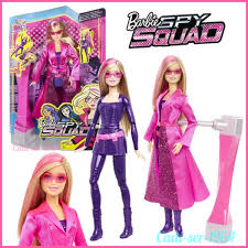 NEW Mattel Barbie Spy Squad Barbie Secret Agent Doll DHF17 Spy Squad