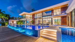 100 Million Dollar Beach Homes Miami Opulent Waterfront House On Sale For 38 Million