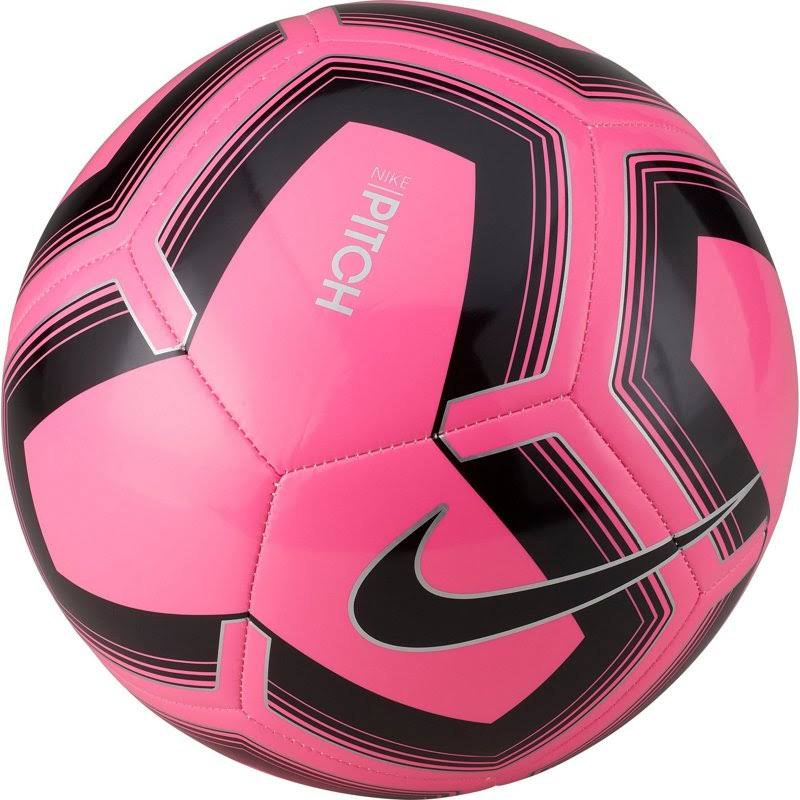 Nike Pitch Training Soccer Ball (Pink/Black) 3