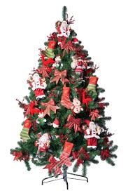 Artificial Christmas Trees Uk 6ft by 6ft Artificial Christmas Tree With Led Lighting Oregon Fir