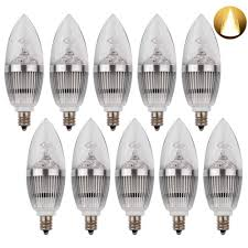 led candelabra bulb led candle bulbs e12 3w 25w equivalent warm