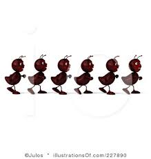 Marching Ants Clipart