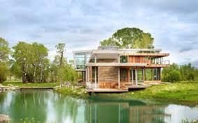 104 River Side House Big Timber Side By Hughesumbanhowar Architects