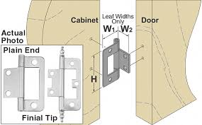 Installing Non Mortise Cabinet Hinges by Mortise Cabinet Hinges Mf Cabinets