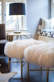 Have Yall Noticed That Fluffy Sheepskin Stools And Ottomans Keep Popping Up All Over The Place