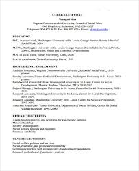 Vcu Resume Template 9 Social Worker Resumes Free Samples Examples Format Download Templates
