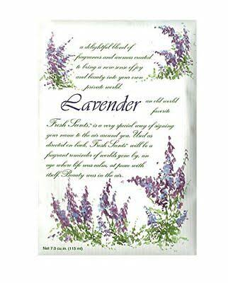 Fresh Scents Scented Sachet - Set of 6, Lavender