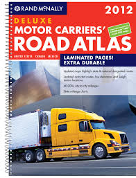 100 United Road Trucking Rand McNally 2012 Deluxe Motor Carriers Atlas Rand Mcnally