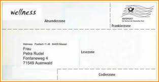 FileService Center Briefermittlung Der Deutschen Post Hinweis Und