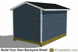 10x14 Garden Shed Plans 10x14 shed plans with garage door icreatables