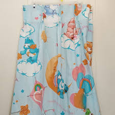 Jcpenney Christmas Tree Sweater by Care Bears 4 Curtain Panels Drapes Vintage Clouds Kite Hearts Jc