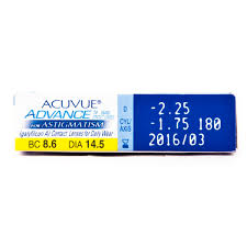 Acuvue 1 DAY Oasys With HydraLuxe For Astigmatism 30pcsbox