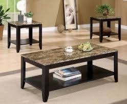 granite coffee table set foter
