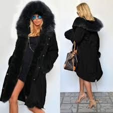 stylish ladies women long sleeve long coat jacket trench
