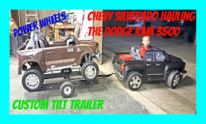 Ride On Power Wheels! Chevy Silverado 12 Volt Hauling The Dodge Ram ... 110cc Chevy Silverado Power Wheels Youtube Hennessey Goliath 6x6 Performance 2017 Chevrolet 1500 Z71 Midnight Edition Driven Top Speed Truck Trucks Inspirational Ride With Crossfitstorrscom 2015 4x4 62l V8 8speed Test Reviews 2019 2500hd 3500hd Heavy Duty Ideas Of Unique New 2018 On Hummer Style Magic Cars Parental Rem Dringer L5p Tuner For The 72018 Duramax Real Is Here Used 2014 Ltz 4x4 For Sale In Pauls