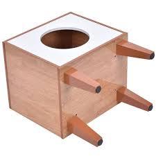 Amazoncom New Cat Box Cushion Bed Cleaning Enclosure Hidden Pet