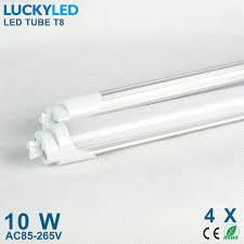 4pcs lot high brightness led bulb l led t8 600mm 10w