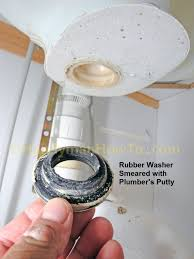 Fix Sink Stopper Spring Clip by How To Replace A Pop Up Sink Drain Install The New Drain