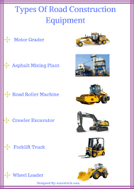 Types Of Road Construction Equipment And Their Uses PDF – All ...