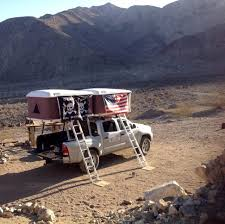 100 Tacoma Truck Tent Hard Shell Roof Top White